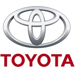 Накладки на пороги для а/м Toyota