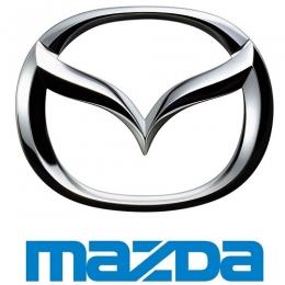 Накладки на пороги для а/м Mazda