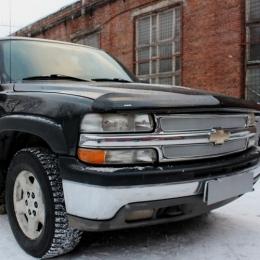 Защита радиатора Chevrolet Tahoe II 1999-2007 chrome PREMIUM