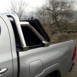 Дуга в кузов Toyota Hilux со спецкрепежом под трехсекционную крышку.