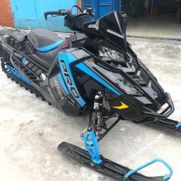 Бампер передний для снегохода POLARIS Pro RMK