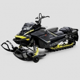 Бампер передний для снегохода BRP Ski-doo (Summit/ MX Z /Backcountry /Renegade /Freeride) / Lynx (Rave /Xtrim /Boondocker /Xterrain)