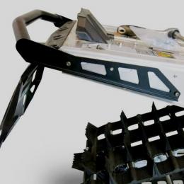 Бампер задний для снегохода Polaris Pro RMK/ Assault