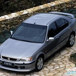Дефлекторы окон Honda Civic Fastback
