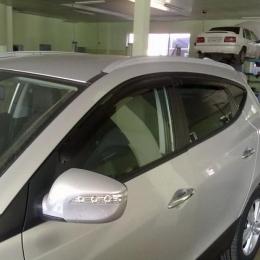 Дефлекторы окон Hyundai IX 55