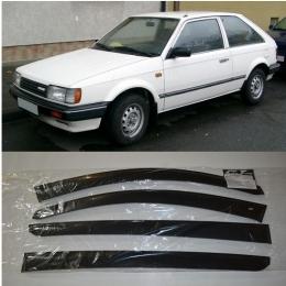 Дефлекторы окон Mazda 323 III (BF) Sd