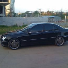 Дефлекторы окон Mercedes Benz C-classe (W203)