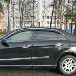 Дефлекторы окон Mercedes Benz E-class (W212) Sd