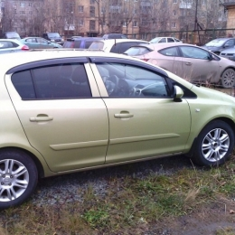 Дефлекторы окон Opel Astra H Hb 5d