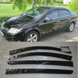 Дефлекторы окон Opel Astra H Sd
