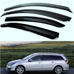 Дефлекторы окон Opel Astra H Wagon