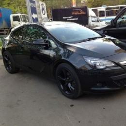Дефлекторы окон Opel Astra J GTC 3d