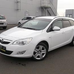 Дефлекторы окон Opel Astra J Sports Tourer