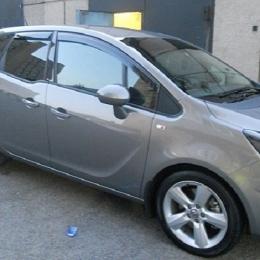 Дефлекторы окон Opel Corsa C 5d