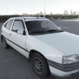 Дефлекторы окон Opel Kadett E 3d Hb