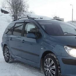 Дефлекторы окон Peugeot 307 Wagon