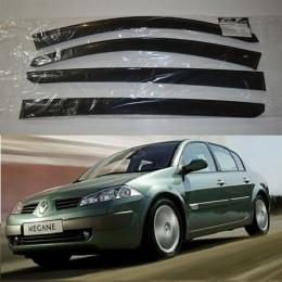 Дефлекторы окон Renault Megane 2 Sd