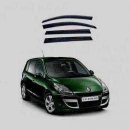 Дефлекторы окон Renault Scenic 2