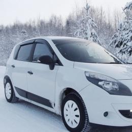Дефлекторы окон Renault Scenic 3