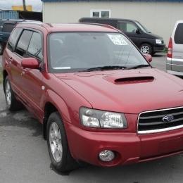 Дефлекторы окон Subaru Forester 2007