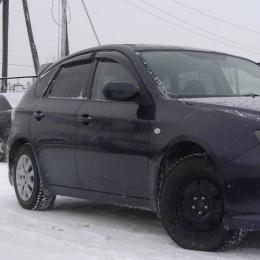 Дефлекторы окон Subaru Impreza Sd Hb