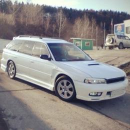 Дефлекторы окон Subaru Legacy Wag