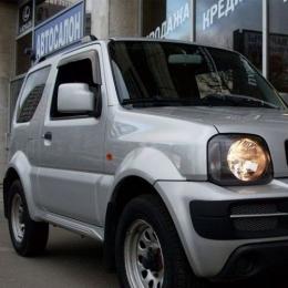 Дефлекторы окон Suzuki Grand Vitara 3d