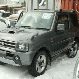 Дефлекторы окон Suzuki Jimny