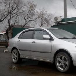 Дефлекторы окон Toyota Corolla Sd