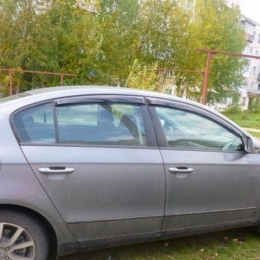 Дефлекторы окон VW Passat B6 Sd
