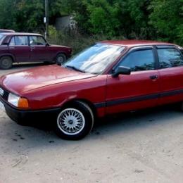 Дефлекторы окон Audi 80