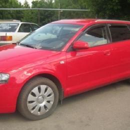 Дефлекторы окон Audi A3