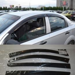 Дефлекторы окон Chevrolet Aveo Sd