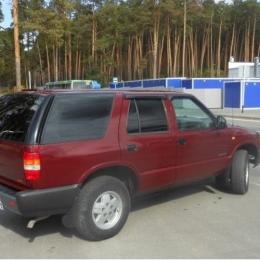Дефлекторы окон Chevrolet Blazer 2
