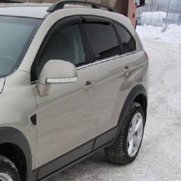 Дефлекторы окон Chevrolet Captiva 2011-