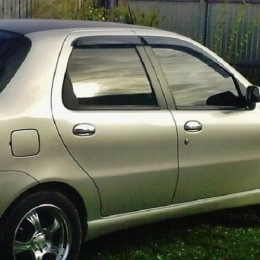 Дефлекторы окон Fiat Albea
