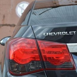 Задняя оптика для Chevrolet Cruze SD (2009-) BMW-Style V1, Red-White