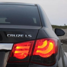 Задняя оптика для Chevrolet Cruze SD (2009-) BMW-Style V1, Red-Smoke