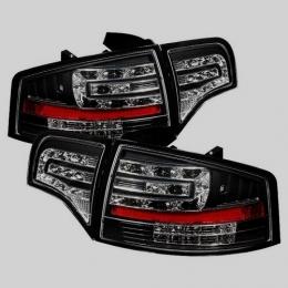 Задняя оптика для Audi A4 (B7; 2004-2007) хром