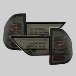 Задняя оптика для BMW Х3 Е83 (2003-2010) EAGLE EYES ХРОМ тонированные