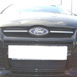 Защита радиатора для Ford Focus II черная
