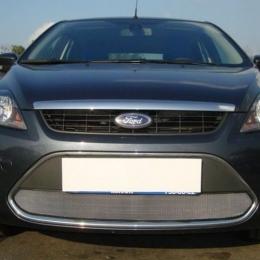 Защита радиатора для Ford Focus II хром