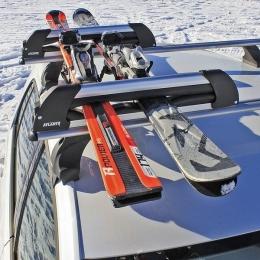 Крепление для перевозки Лыж и Сноубордов 4 пары лыж или 2 сноуборда