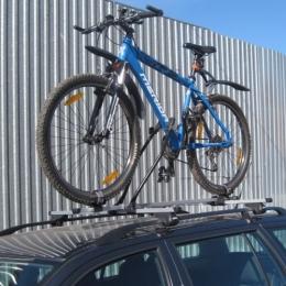 Велокрепление (багажник) на крышу автомобиля |Сталь