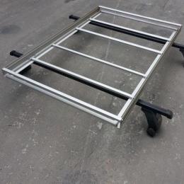 Багажник на крышу автомобиля-корзина алюм. 1300х900