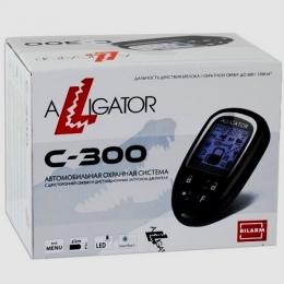 Автосигнализация ALLIGATOR C-300