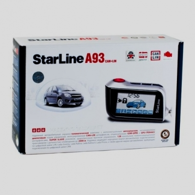 Автосигнализация StarLine A93 CAN-LIN