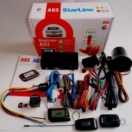 Автосигнализация StarLine A93  автозапуск