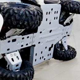 Защита днища на квадроцикл Stels Leopard 650 (5 частей)