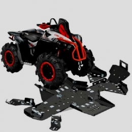 Защита для квадроцикла BRP G2 Renegade X MR (2017+) композитная